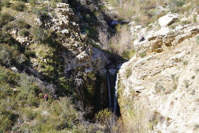 Trail_Canyon_Falls_147_02082020 - View of Trail Canyon Falls before the scramble to its base