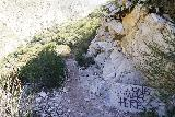Trail_Canyon_Falls_273_02082020 - More graffiti that I noticed on the way back from Trail Canyon Falls during our February 2020 visit