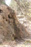 Travertine_Falls_017_04142017 - Angled look up at what was left of Travertine Falls during my mid-April 2017 visit