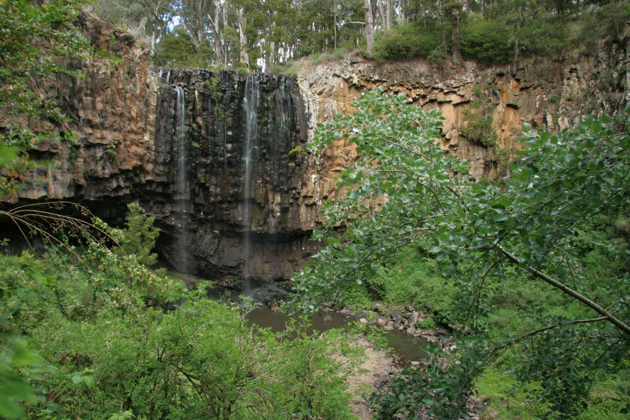 This was about as close to Trentham Falls as we were able to get to before the landslide stopped us