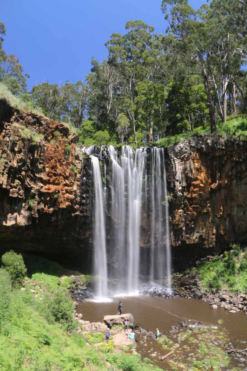 Last look at Trentham Falls before I headed back up. I realized by this time that the access to the base was much easier than it was back in November 2006