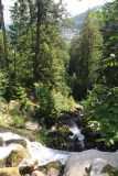 Triberg_160_06212018 - Looking downstream from one of the upper tiers of Triberg Waterfalls