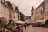 Trier_005_06182018 - Looking along the cute fussgangerzone (pedestrian zone) of Trier from near our apartment