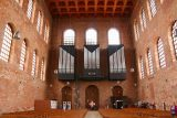 Trier_049_06182018 - Looking in the other direction towards the organs perched by the entrance to the Konstantin Basilika