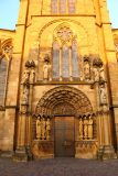 Trier_151_06182018 - Checking out one of the imposing doors by the Dom in Trier