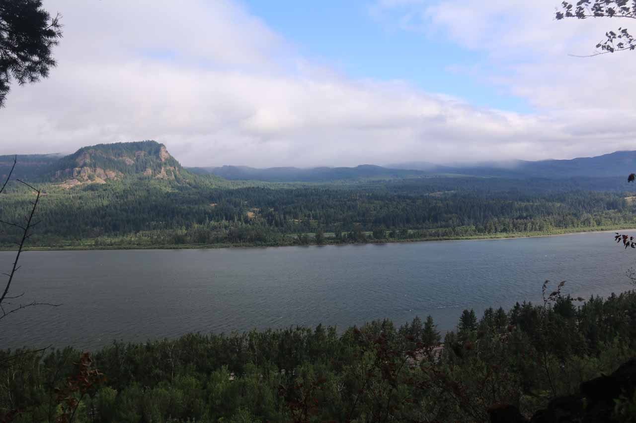 One of the views across the Columbia River in the vicinity of the 'Viewpoint'