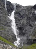 Trollstigen_033_jx_07022005 - Higher up Trollstigen with this closeup view of Tverrdalsfossen in early July 2005