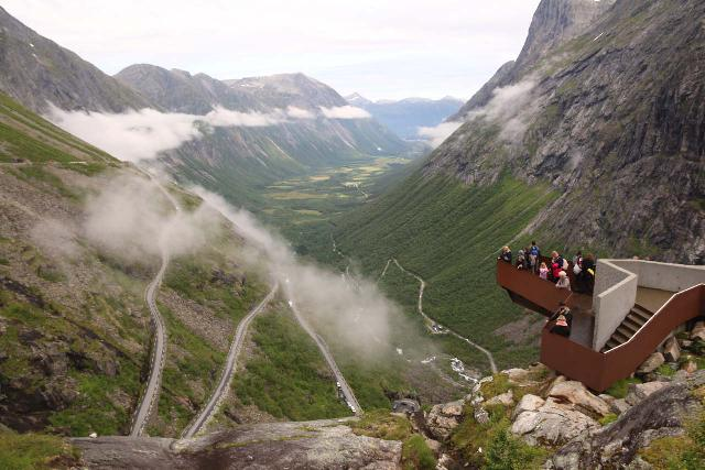 The Geirangerfjord was part of the Norwegian National Tourist Route, where the famous Trollstigen was within reach of