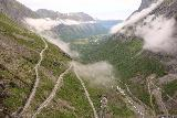 Trollstigen_170_07172019 - Clouds were kind of the wildcard on our 2019 visit at Trollstigen where they were quite fickle about letting us have a good viewing experience