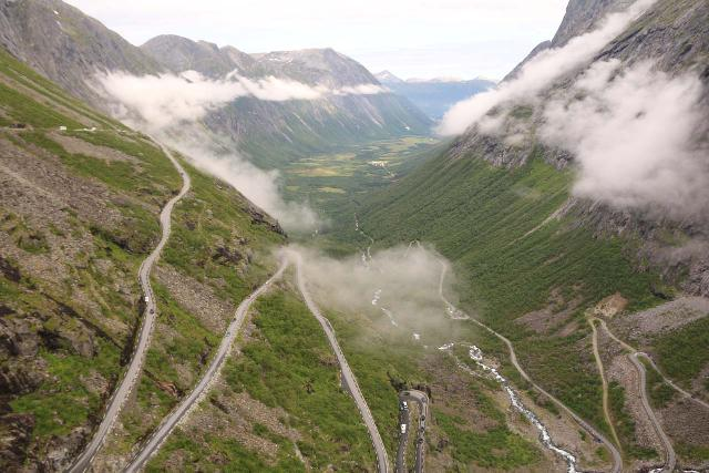 Trollstigen_170_07172019 - The Fv63 was a very busy stretch of road because it not only passed through Geiranger, but it also passed through the famous Trollstigen serpentine road