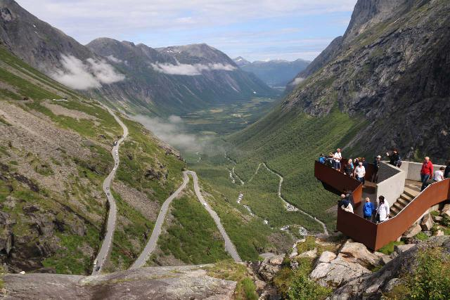 Trollstigen_244_07172019 - Åndalsnes was one of the closest tourist towns to not only the famed Romsdal Valley, but it was also near the wildly popular Trollstigen, which seemed to have undergone quite a few changes between our visits in 2005 and 2019