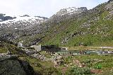 Trollstigen_277_07172019 - Looking back to the Trollstigen Visitor Center though I did notice quite a few people were not using the boardwalks and thus scarring the landscape