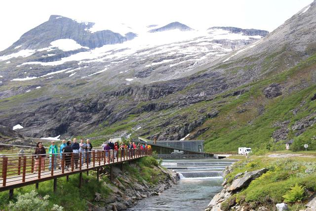 Trollstigen_290_07172019 - Looking back at some of the modifications made to the stream feeding Stigfossen though they didn't appear to adversely impact the overall stream flow