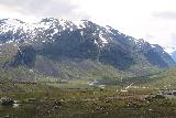 Trollstigen_348_07172019 - Context of Slufsafossen and mountains comprising Valldalen as we descended into it