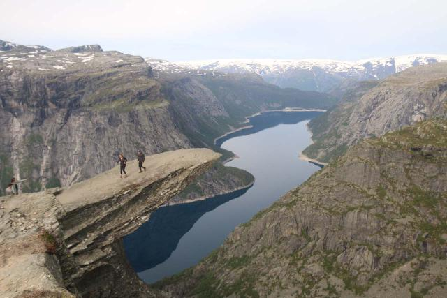 Trolltunga_379_06232019 - South of Lofthus was Tyssedal, where I went on a very long hike to experience the Trolltunga, which I considered to be part of the 'Tourist Trifecta' with Preikestolen and Kjerag due to their popularity with the social media crowd in recent years