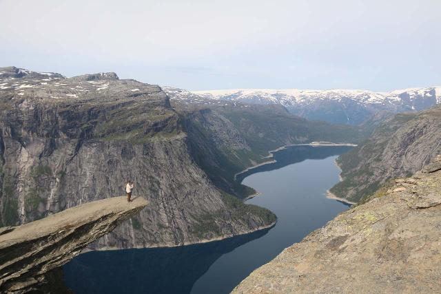 Trolltunga_399_06232019 - Further to the north of Odda in Tyssedal, I managed to do the epic hike out to Trolltunga, which was another one of what I called the 'Tourist Trifecta' that included Kjerag and Preikestolen.