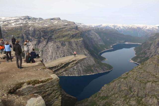 Trolltunga_435_06232019 - Further to the north of Odda in Tyssedal, I managed to do the epic hike out to Trolltunga, which was another one of what I called the 'Tourist Trifecta' that included Kjerag and Preikestolen