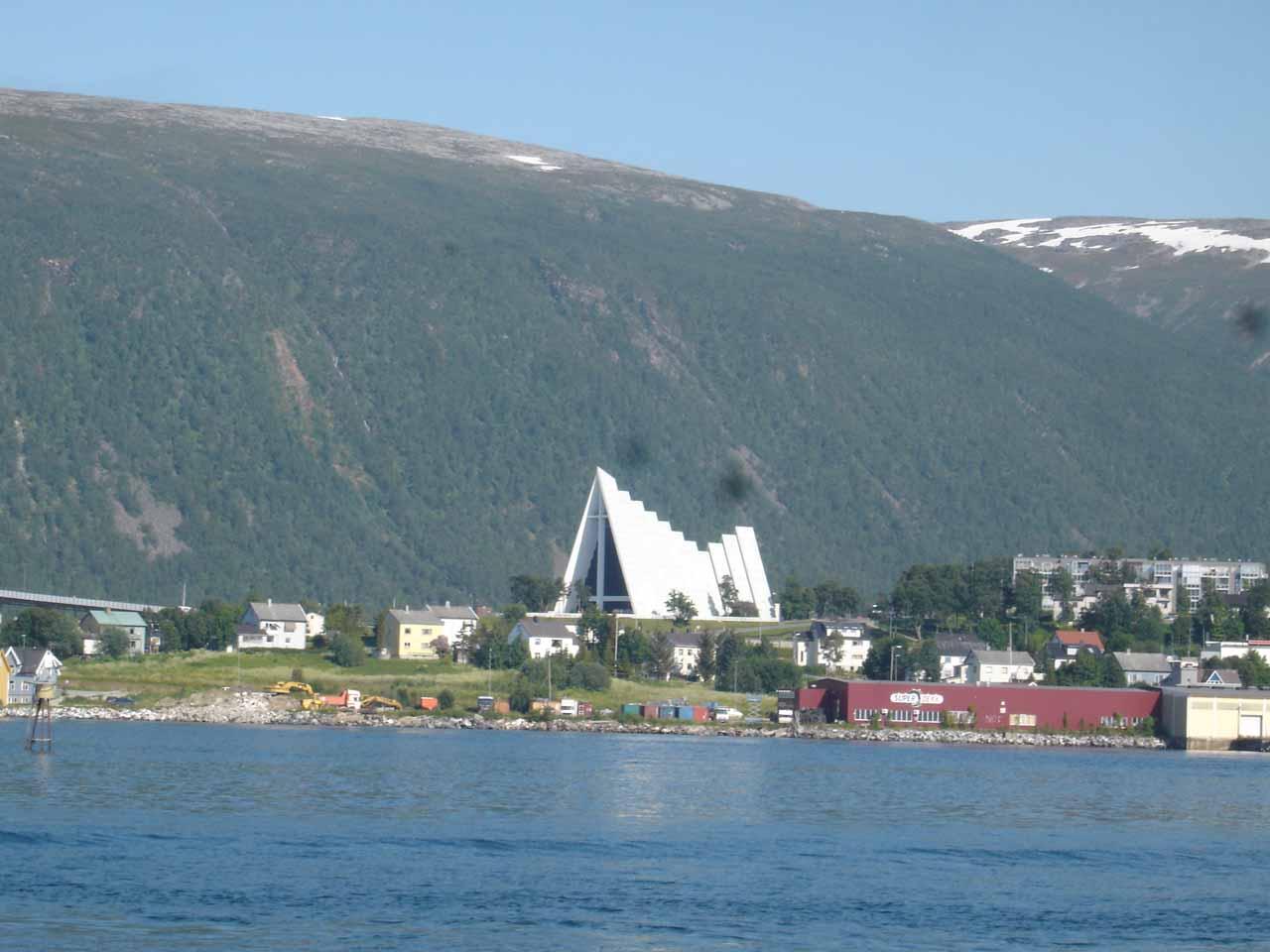 The waterfalls of Kåfjorden were amongst the last waterfalls that we saw before ending our 2005 Norway trip in Tromsø