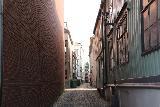 Trondheim_211_07132019 - Walking in one of the narrow alleyways as we were pursuing an Indian restaurant in Trondheim
