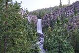 Tumalo_Falls_017_06272021 - Long exposure look Tumalo Falls from the main lookout