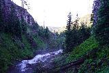 Tumalo_Falls_055_06272021 - Looking downstream at the Tumalo Creek from near the base of Tumalo Falls