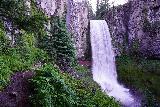 Tumalo_Falls_064_06272021 - Context of the wet path leading to the backside of Tumalo Falls