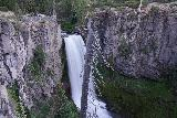 Tumalo_Falls_099_06272021 - Long-exposed look at Tumalo Falls as seen from the main lookout
