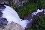 Tumalo_Falls_109_06272021 - Looking over the brink of Tumalo Falls