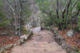 Turner_Falls_015_03182016 - Now descending the trail leading to the Natural Arch Rock