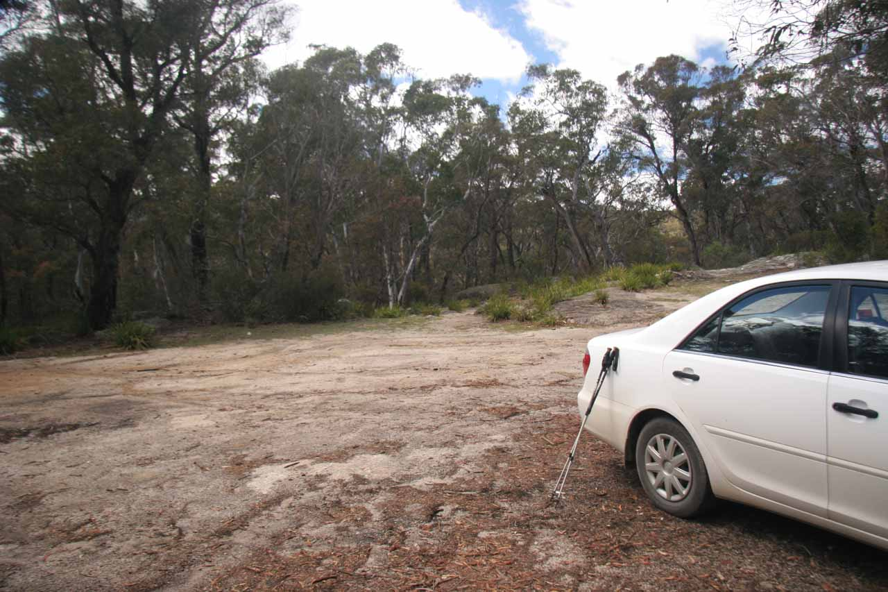 We were the lone car parked at the car park for Tuross Falls.  Not surprising given how remote Wadbilliga National Park seemed to be