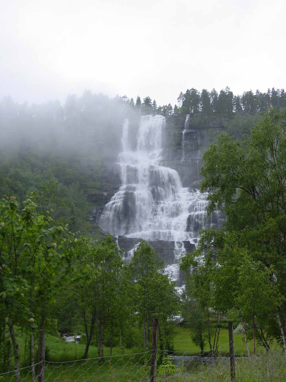 First look at Tvindefossen