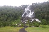 Tvindefossen_003_06252019 - On our 2019 visit to Tvindefossen in late June, we were one of the first people there so it was refreshingly quiet and devoid of tour bus crowds