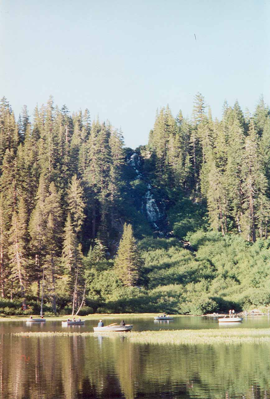 How Twin Falls looked across the lake back in 2001