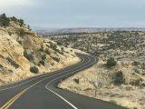 UT12_Roadshots_018_iPhone_04022018 - Driving the scenic stretch of UT12 between Upper and Lower Calf Creek Falls