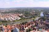 Ulm_056_06232018 - Looking over the Donau River from the top of the Ulm Munster