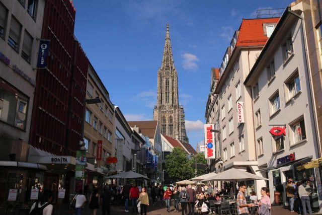 Ulm_157_06232018 - Prior to visiting Lindau and the Scheidegger Waterfalls, had visited the city of Ulm with its imposing Ulm Munster and the charming Fischerviertel roughly 90 minutes drive on the A7 and A96 autobahns