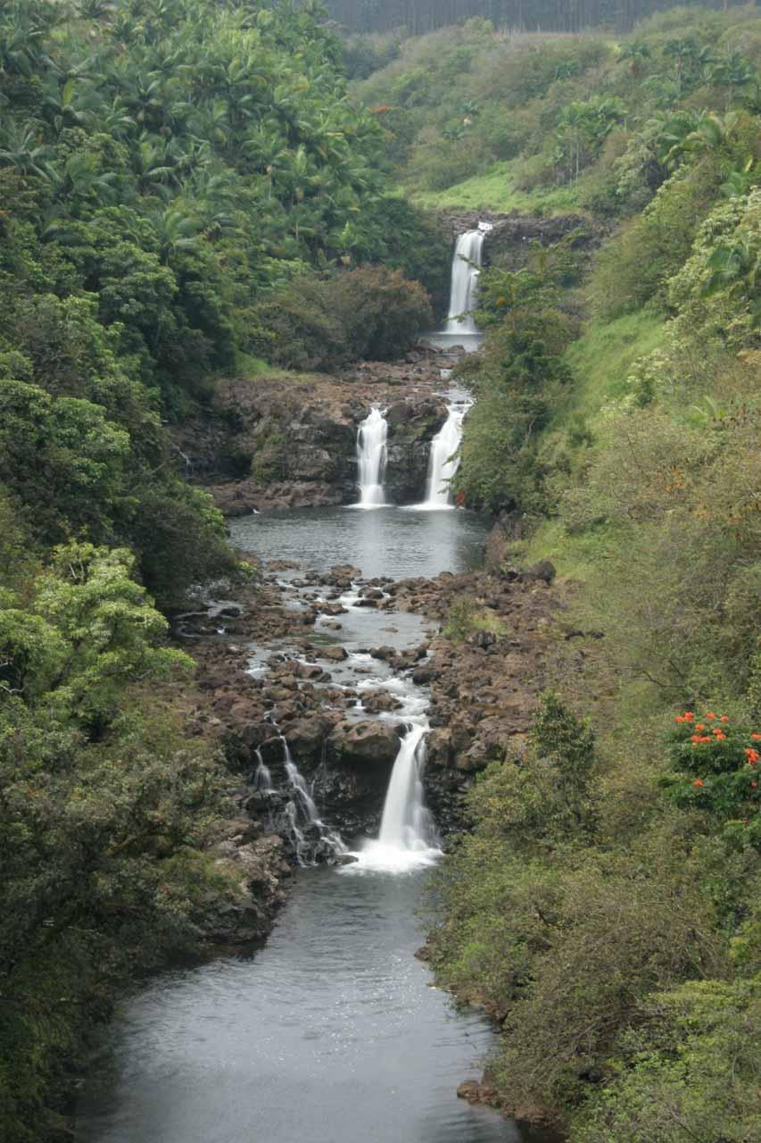 Yet another look at Umauma Falls