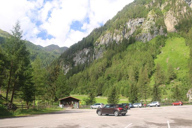 Umbal_Waterfalls_007_07152018 - The car park at the end of the L24 Road to the head of the Virgental Valley at Ströden
