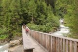 Umbal_Waterfalls_259_07162018 - The side trail ultimately got me to this footbridge over the Umbalbach though the cascades that I thought I saw earlier weren't really visible from here