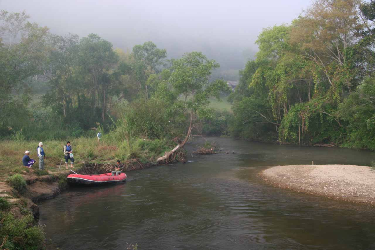 Rafting into the Umphang Wildlife Sanctuary