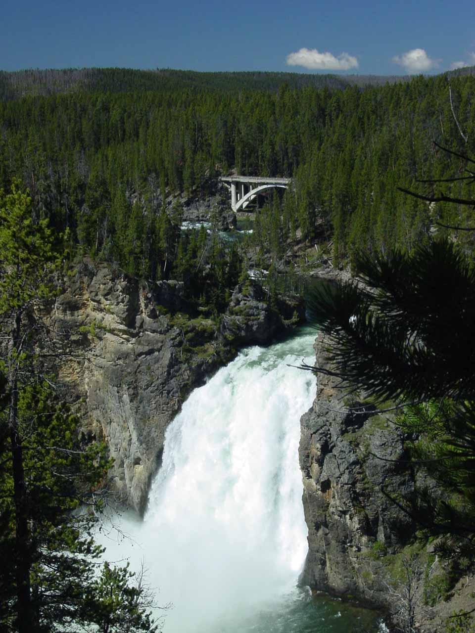 Upper Falls and the Chittenden Bridge