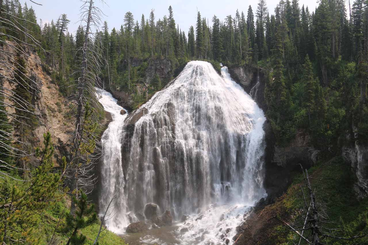 4. UNION FALLS [Yellowstone National Park, Wyoming]