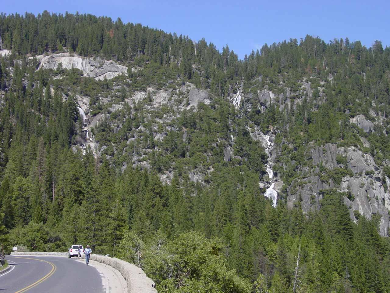 The Upper Cascades from the Big Oak Flat Road