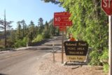 Upper_Eagle_Falls_003_06232016 - The signposted entrance (looking east along Hwy 89) to the picnic area and trailhead