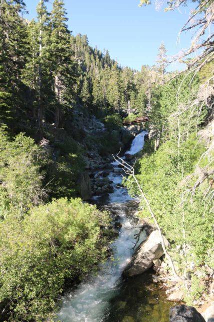 Upper_Eagle_Falls_028_06232016 - Looking up along the creek towards the Upper Eagle Falls