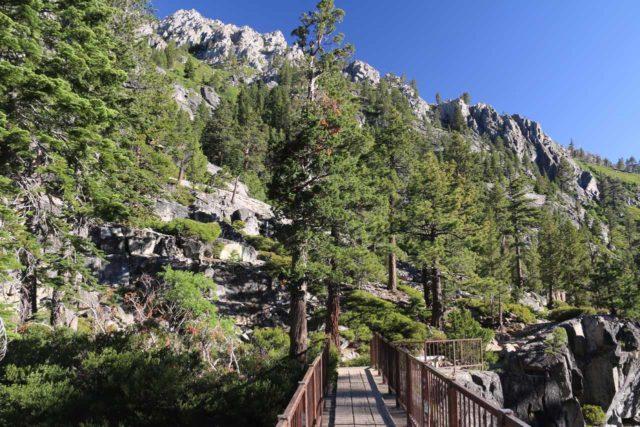 Upper_Eagle_Falls_068_06232016 - Looking across the footbridge above the brink of Upper Eagle Falls