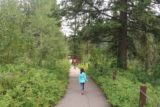 Upper_Mesa_Falls_17_018_08142017 - Julie and Tahia following along a wheelchair-accessible path as we approached the Upper Mesa Falls