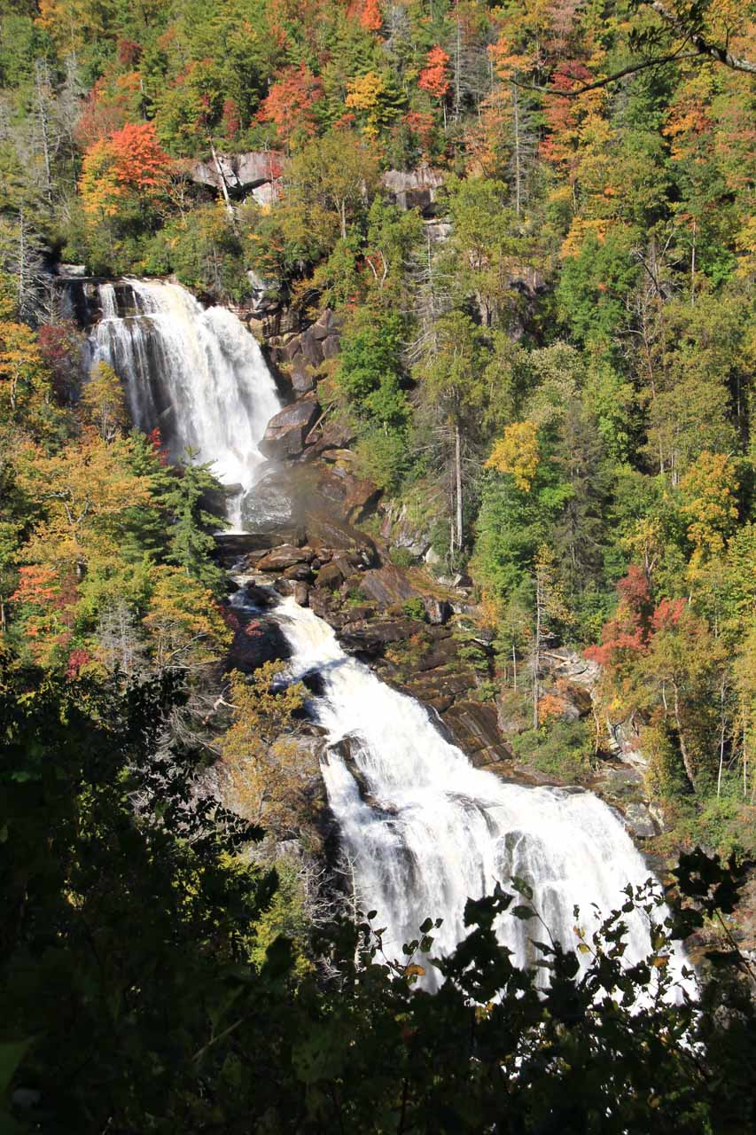 The falls from the upper overlook