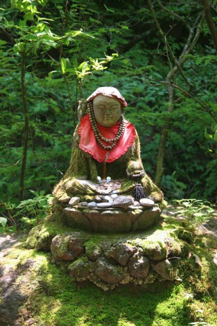Urami_010_05242009 - We noticed this little Buddha shrine on the actual trail leading to the Urami Waterfall