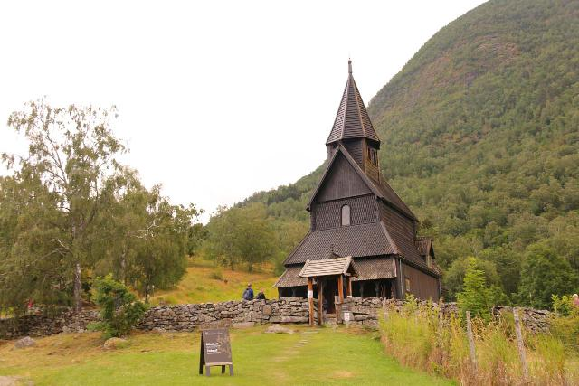 Urnes_stavkirke_016_07202019 - When we made our way to the Lusterfjord, we visited the 12th century Urnes Stave Church. We managed to catch a tour of it, where we got to check out its rather elaborate interior